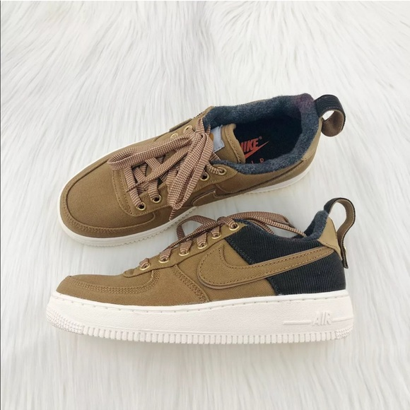 Girls Nike Air Force 1 Utility Carhartt Sneaker NWT